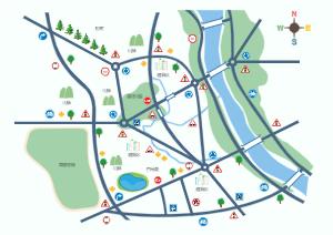 城市方位图