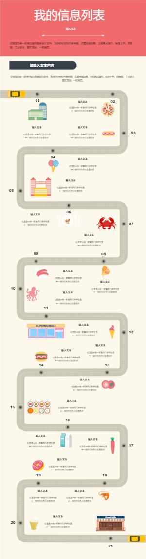 食品信息图