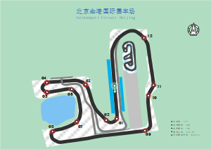 北京金港汽车公园赛车场
