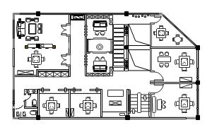 茶室平面图