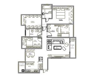 室内装修平面图