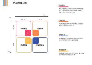 产品策略分析矩阵
