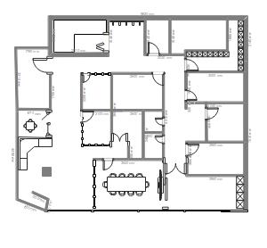 培训学校设计布局图