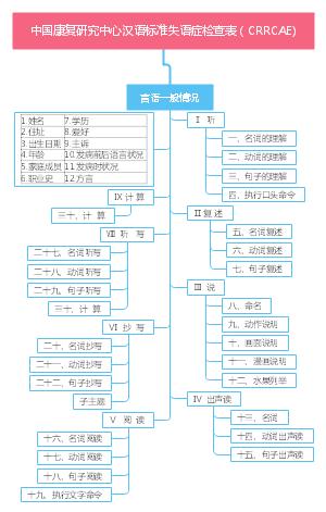 中国康复研究中心汉语标准失语症检查表(CRRCAE)