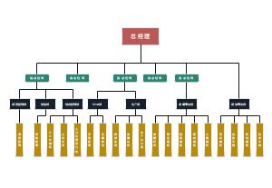 公司组织结构图(房产开发)