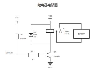 继电器电路图