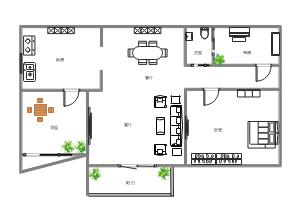 住宅平面布局图