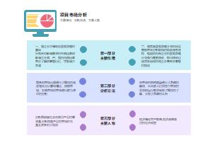 项目市场分析的主要作用