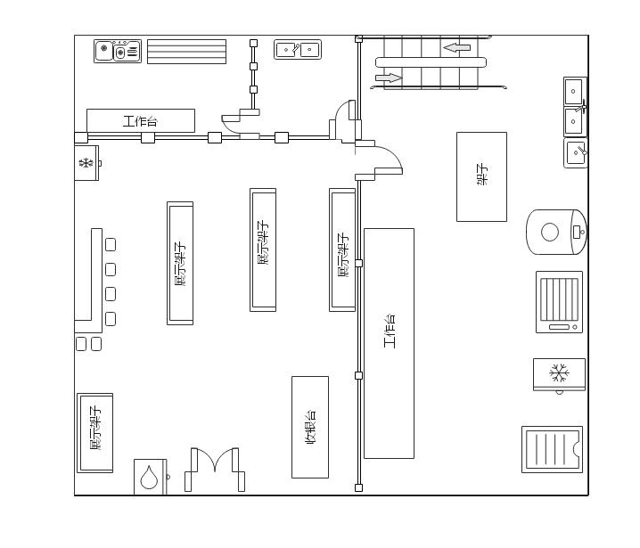 商店房屋平面图