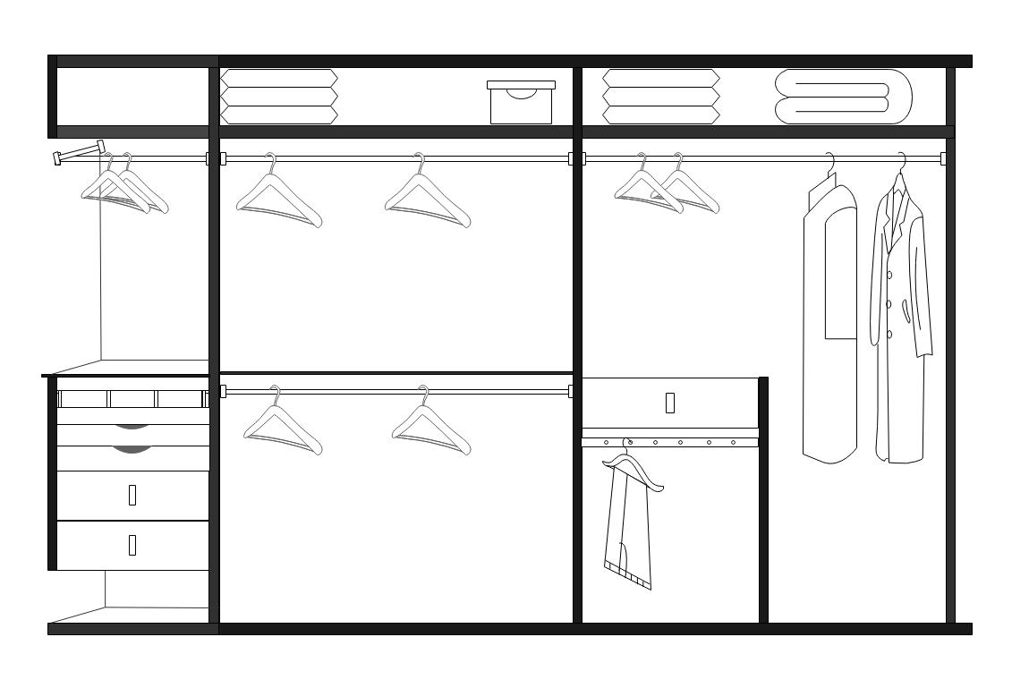 卧室衣柜效果图