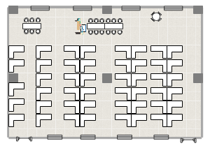 座位布局图
