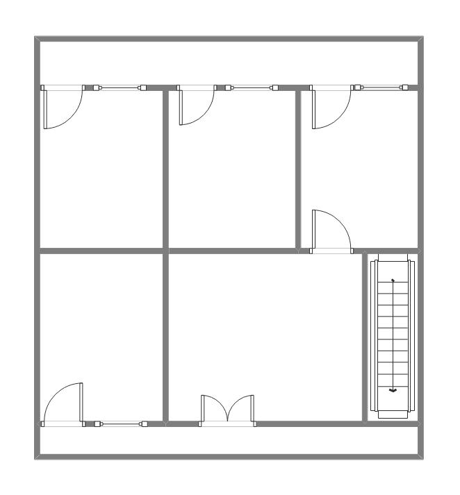 旧房改造平面图