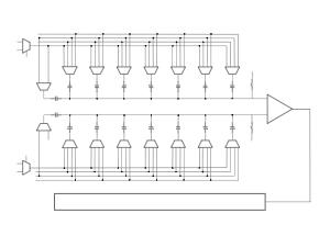 SAR ADC结构图