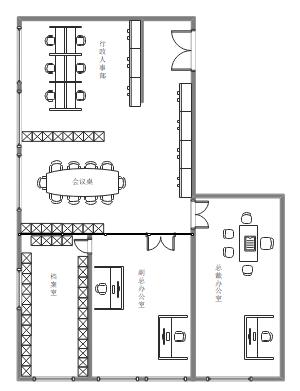 办公室设计布局图