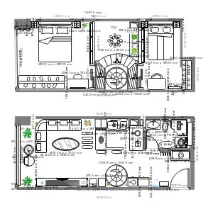 50 loft 布局图