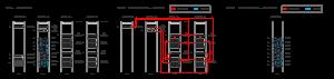 机柜部署及系统连接图