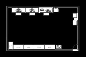 办公室平面设计图