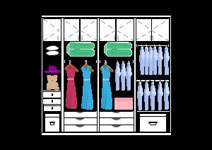 衣柜空间布局设计