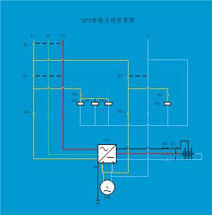 UPS旁路互投原理图