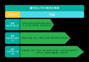 攀枝花工厂5S推进流程图