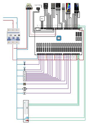 RCU接线图