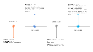 项目安排时间轴