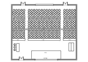 礼堂大厅常规平面图