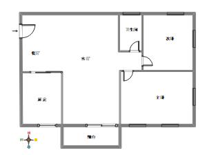 房屋的户型图