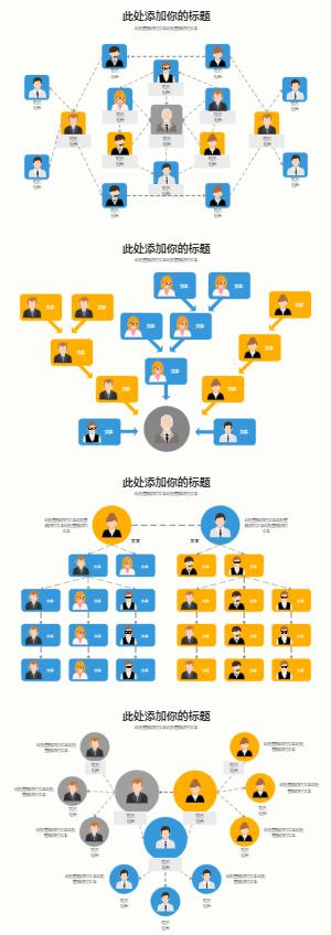 组织架构多页图