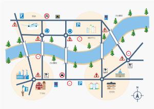 城市位置图