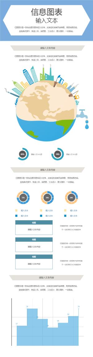 地球环保信息图