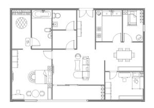 家居布局设计效果图