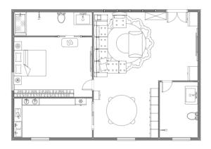 家居布局方案图