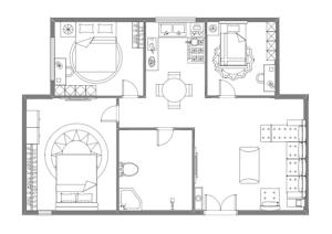 家居布局设计图