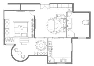 室内家具规划图