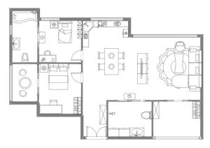 家具布局平面图