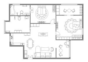 家具摆放设计图