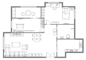 家居布局规划图