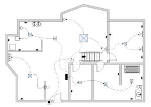 电路平面图