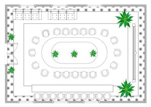 会议室座位图