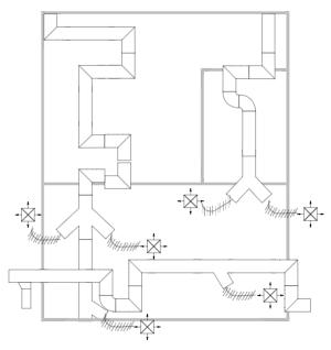 暖通空调平面图