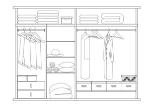 简约衣柜设计