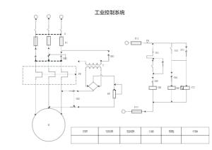 工业控制系统连接图