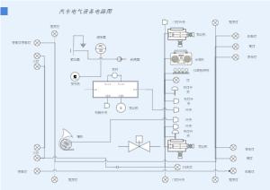 汽车电气设备电路图