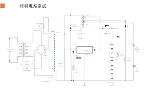 照明电路系统图