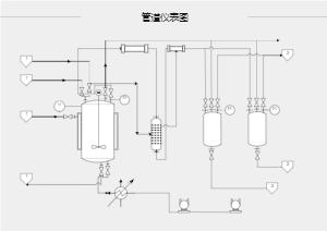 管道仪表中间电路连接图