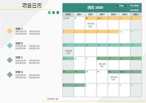 项目日程安排