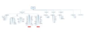 某公司整合组织架构图
